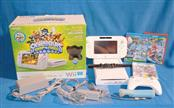NINTENDO Wii U GAME CONSOLE WUP-001 WHITE 8GB W/ 3 GAMES